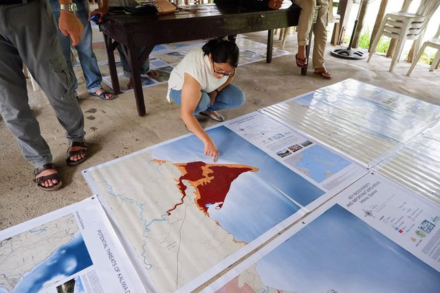 : IP leaders use advocacy maps to show how Kaliwa Dam will impact them